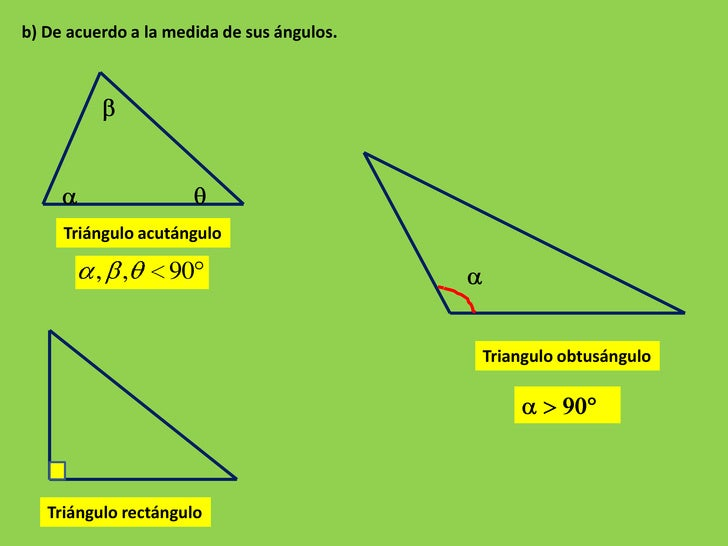 geometria triangulos propiedades: