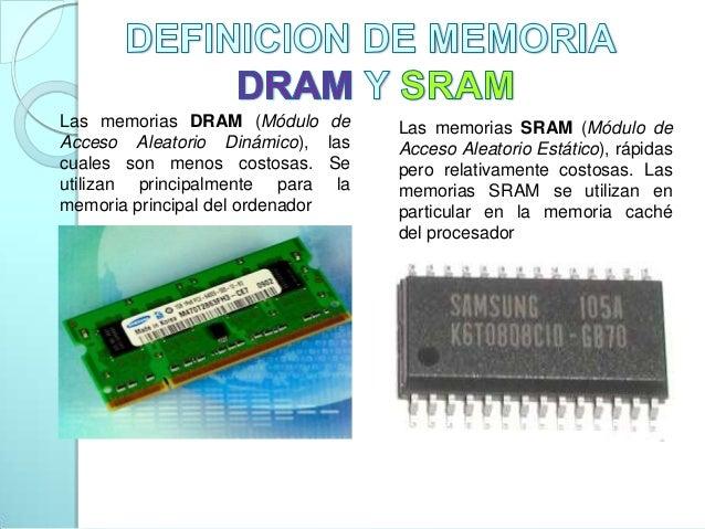 Clasificacion De La Memoria Ram Y Rom