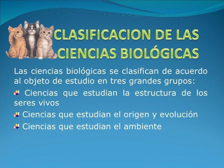 final de las ciencias: