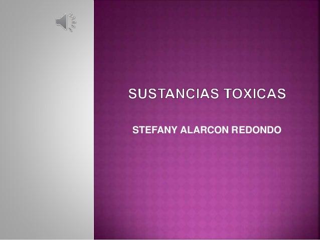 STEFANY ALARCON REDONDO