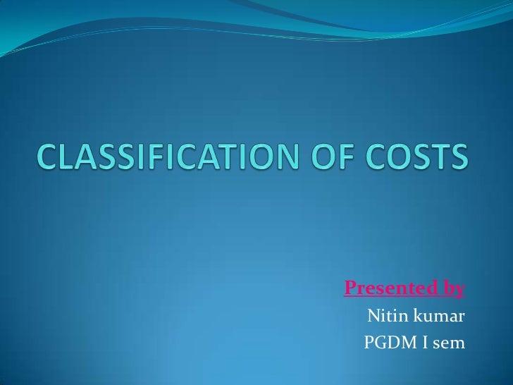 Presented by Nitin kumar PGDM I sem