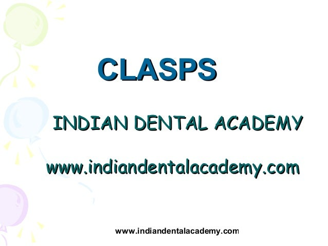 Removable appliances in orthodontics  /certified fixed orthodontic courses by Indian dental academy
