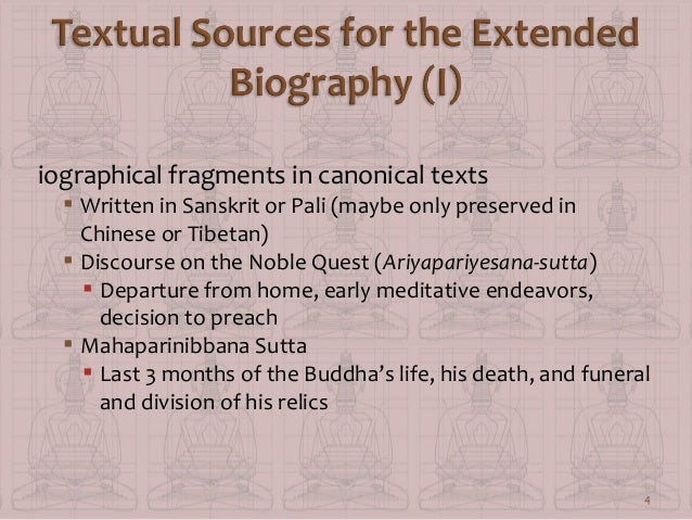 Buddhist Canonical Texts Canonical Texts  Written