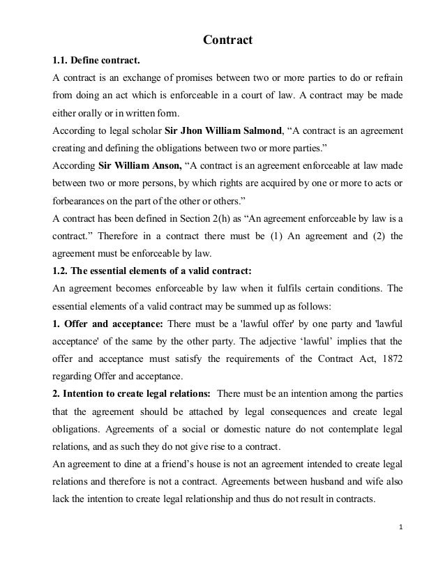 intention to create legal relation The aim of this article is to examine the purpose and effect of the alleged rule of english law that an agreement supported by consideration will not be enforceable as a contract unless there is additional proof of an intention to create legal relations.