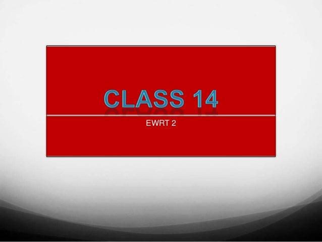EWRT 2