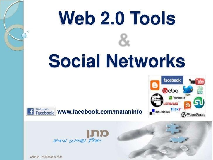 Class 15 social networks web 2.0