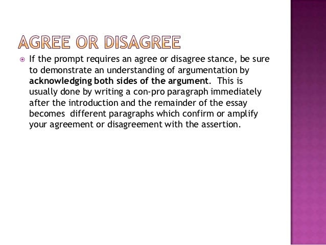 agree disagree qualify essay Impact evaluations so on the second day of piloting, we use a binary scale: do you agree or disagree there is a whole literature on this agree-disagree.