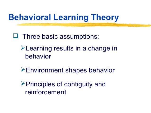 essays on behavior modification