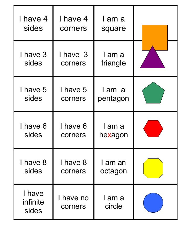 2D Shape Sorting Activity 2d, shape, sorting, activity, sort