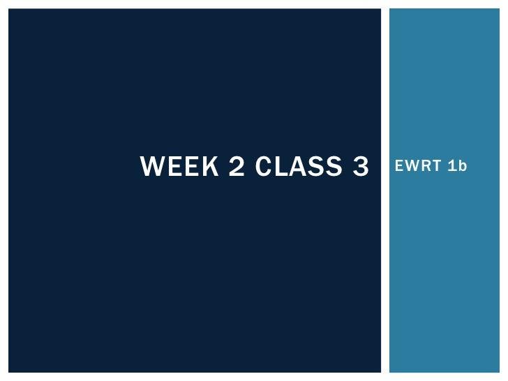Class 3 1 b