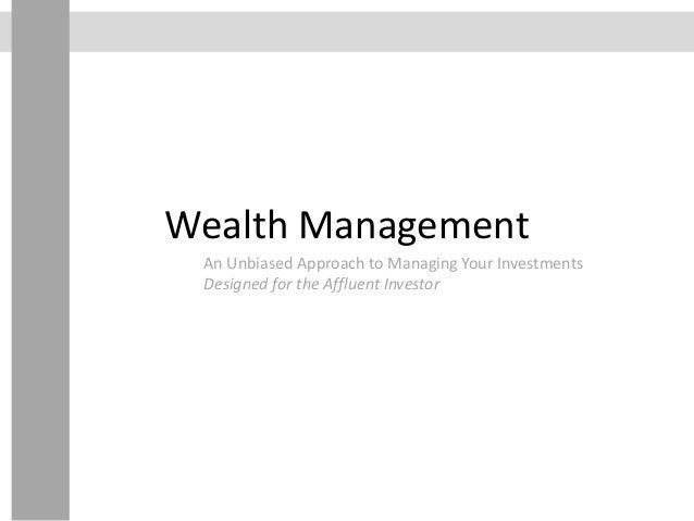 Generational Wealth Management - Week 4