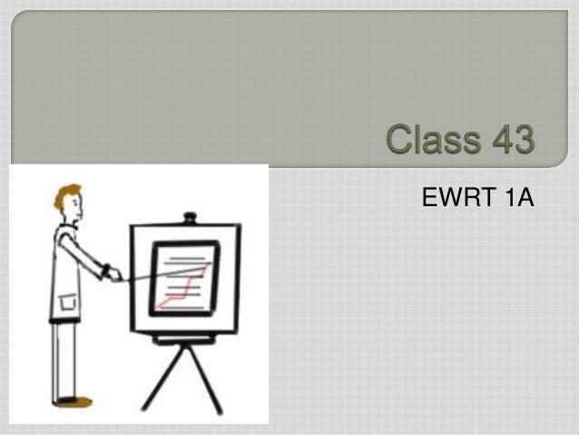 EWRT 1A