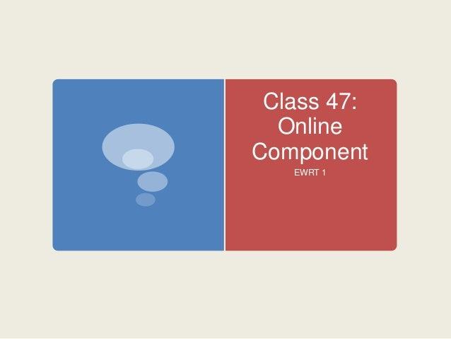 Class 47 online component