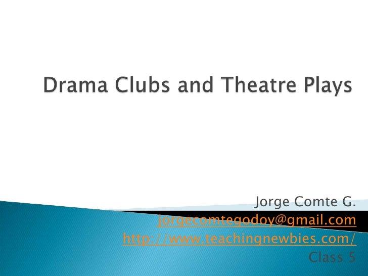 Class 5   Drama For Teaching Purposes Tn