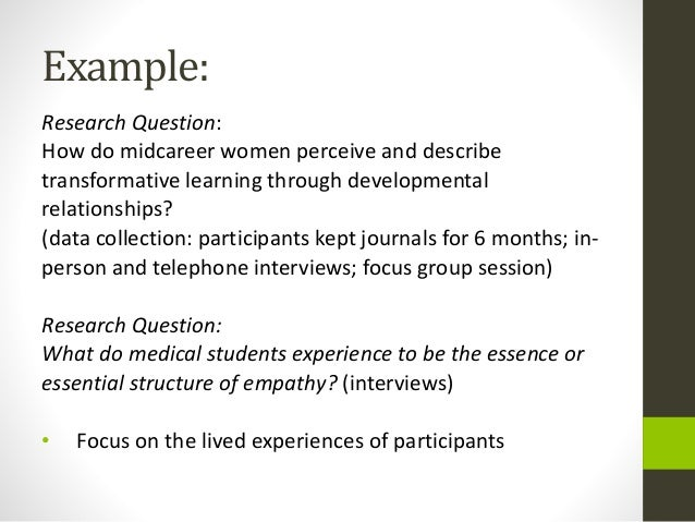 research questions for dissertation