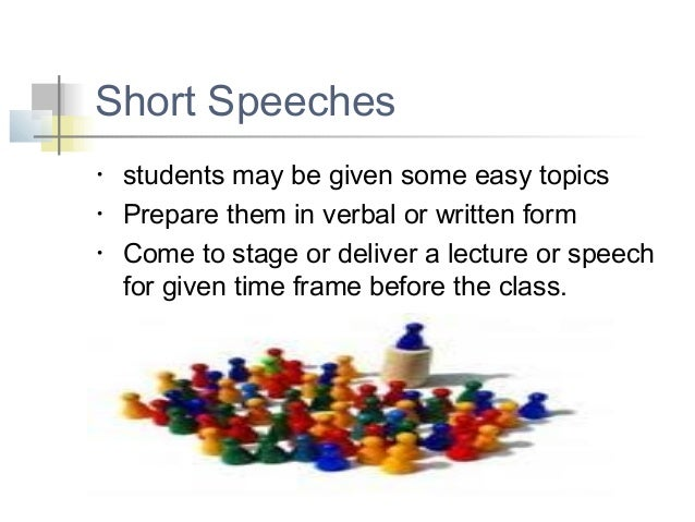 topic for speech in college Look through the persuasive speech topics for college students presented here they are divided into categories for.