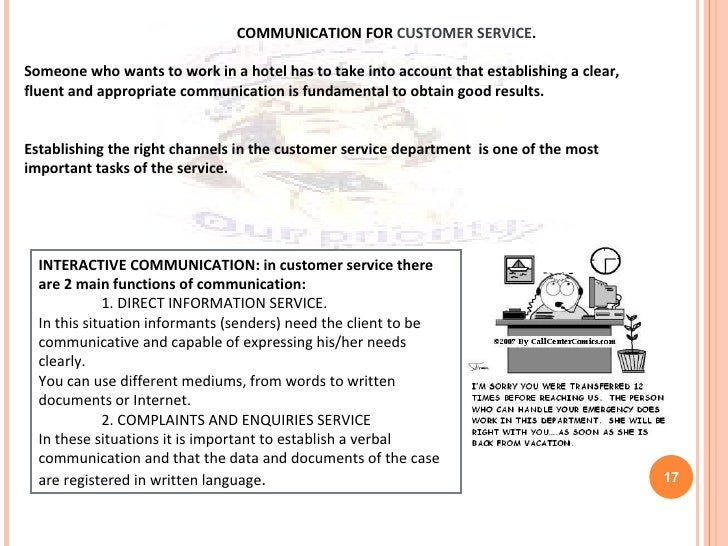 communication in the customer service role essay Effective communication essay  in 2008 i was a claims customer service representative for a company called  explain the role of effective communication and .