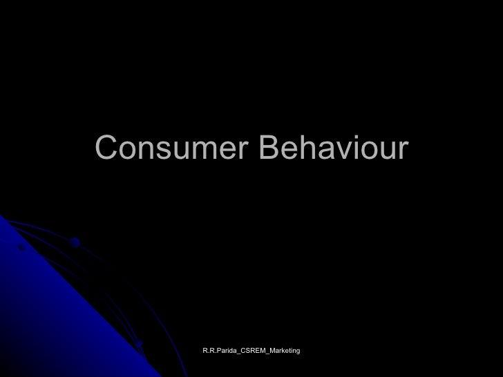 Class consumer behaviour