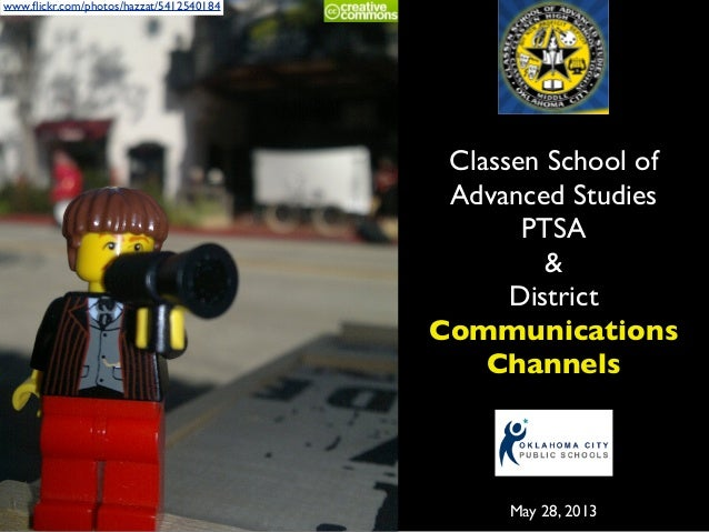ClassenSAS Communications Channels (May 2013)
