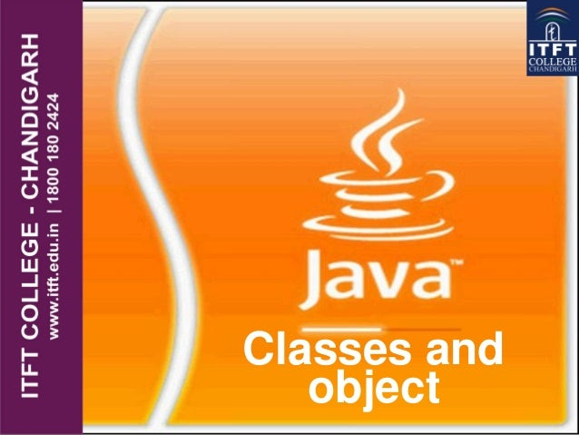 Classes and object