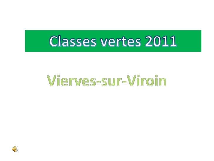 Classes vertes 2011<br />Vierves-sur-Viroin<br />