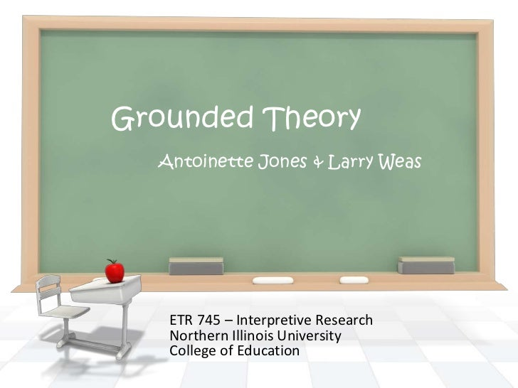 Phd Thesis Using Grounded Theory