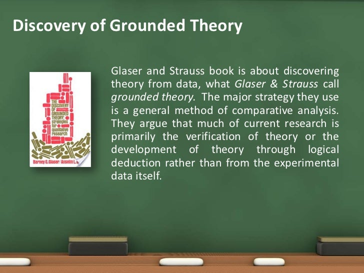 grounded theory essay Read 'discovery of gt' in a relaxed way to find the ideas underpinning dissertation - grounded theory more of a conversation, the grounded theory interview is a.