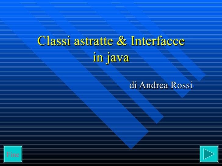 Classi_astratte_interfacce