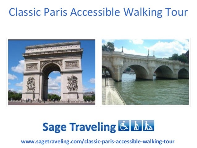 Classic Paris Accessible Walking Tour