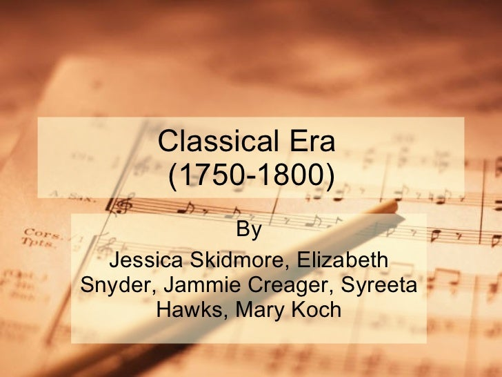 Classical%20 era%20group%20project