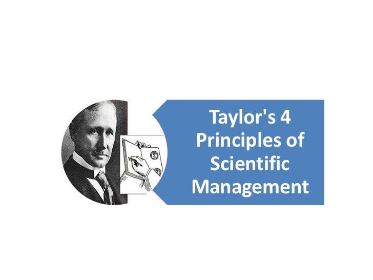 criticism of scientific management essays