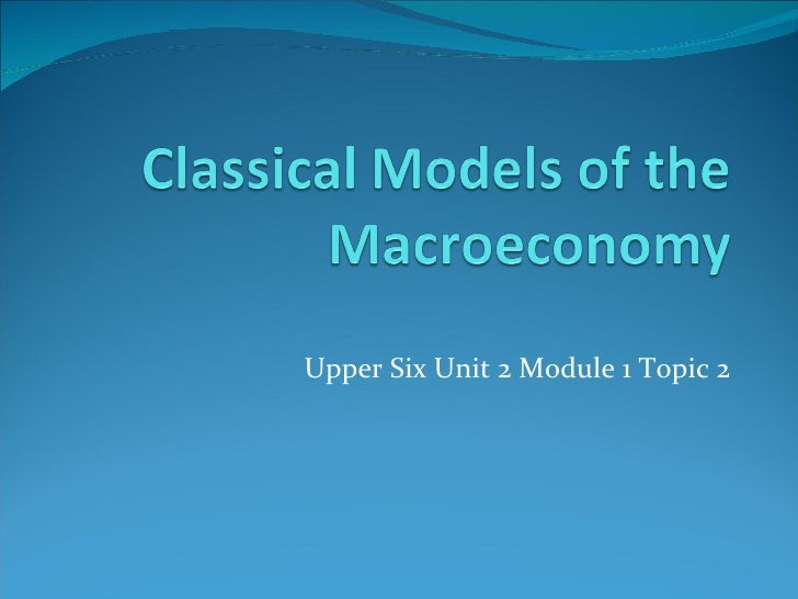 Upper Six Unit 2 Module 1 Topic 2