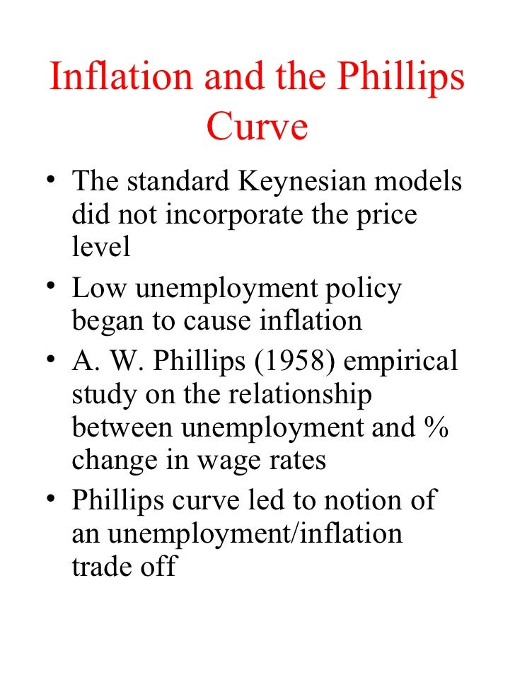research proposal on causes of unemployment and inflation Keywords: phillips curve, unemployment gap, conditional predictive ability  by  benigno and ricci (2011) provides persuasive reasons why this outcome may be  expected  an excellent and in-depth literature review on inflation forecasts can.