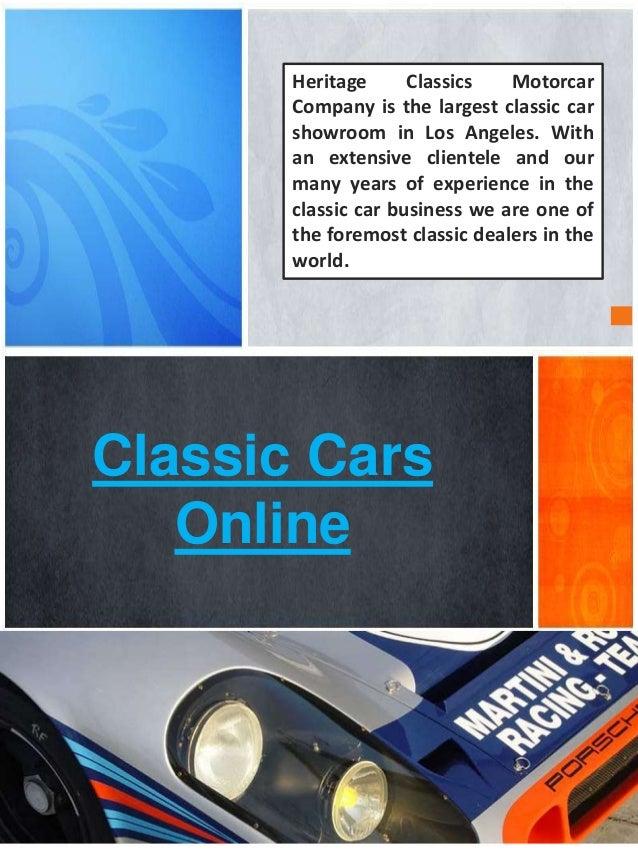 Heritage Classic Cars Los Angeles