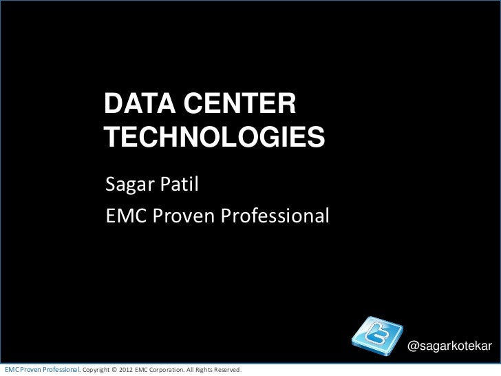DATA CENTER                                TECHNOLOGIES                                 Sagar Patil                       ...