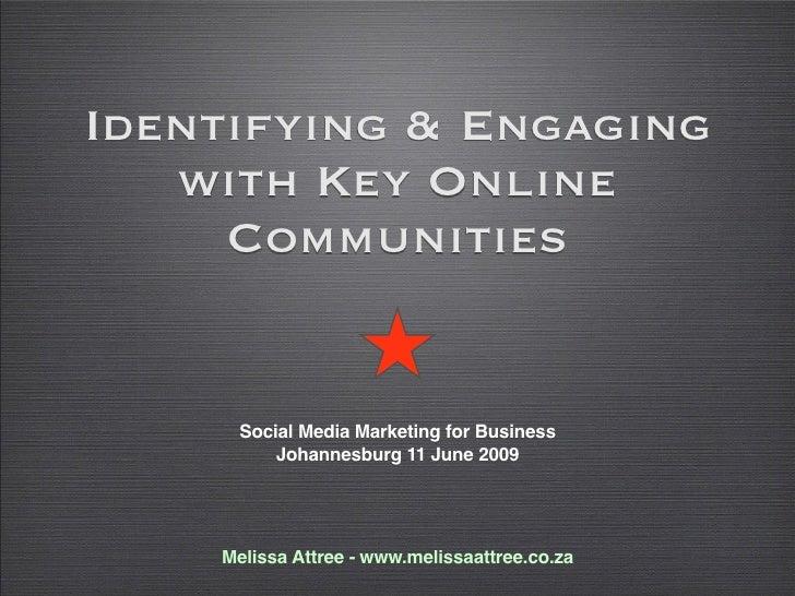 Social Media Marketing for Business 11 June09