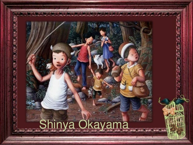 Classic Fairytale Art by Shinya Okayama