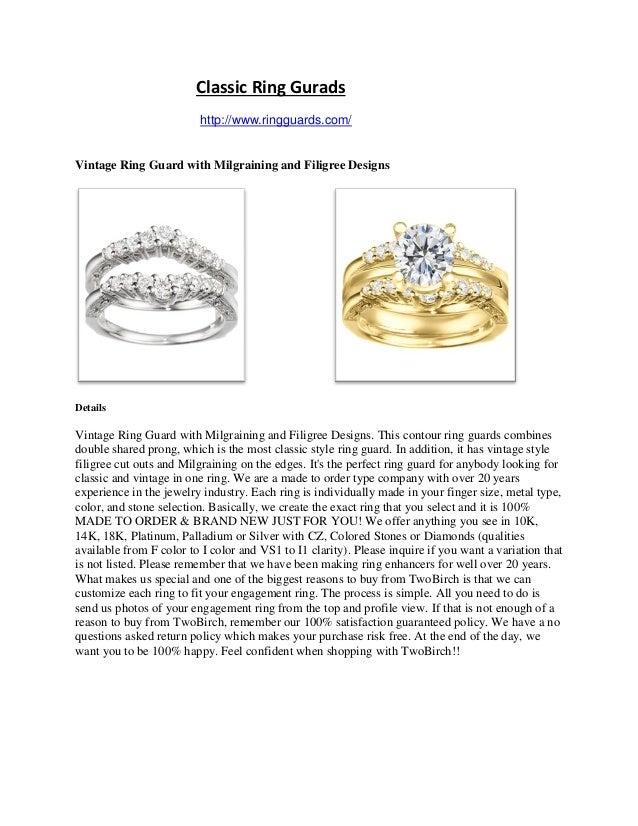 Classic ring gurads