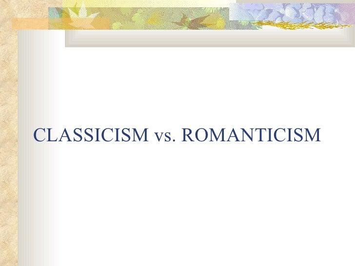 Classicromantic