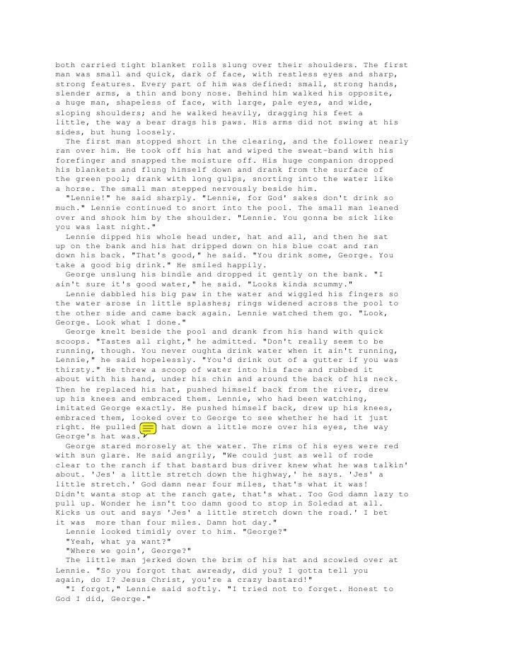 Classics John Steinbeck Of Miceand Men2