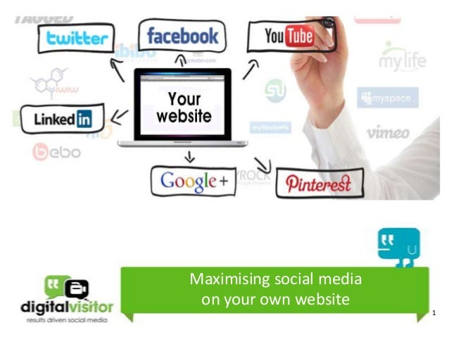 Maximising social media on your own website