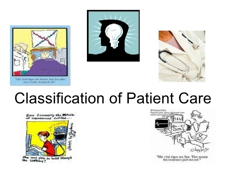 Classification of Patient Care