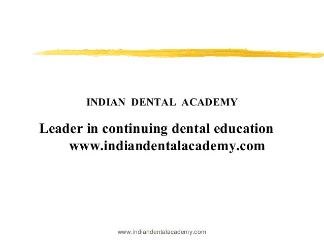 ClassifIcation of complete denture patients/ hands on courses in dentistry