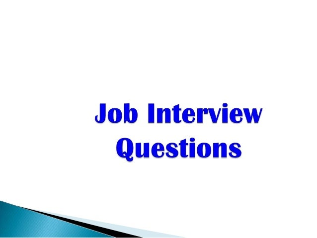 Job Interview Questions for new Graduates