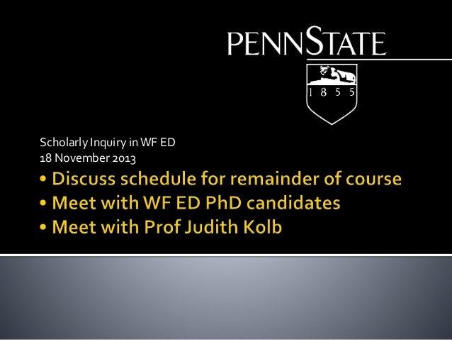 Class meeting 12-2013