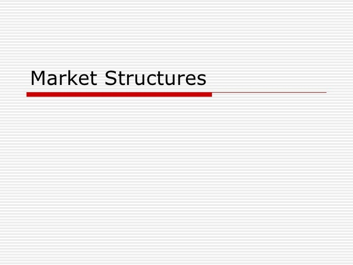 Class mkt structures i