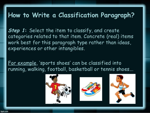Division classification essay on shoes