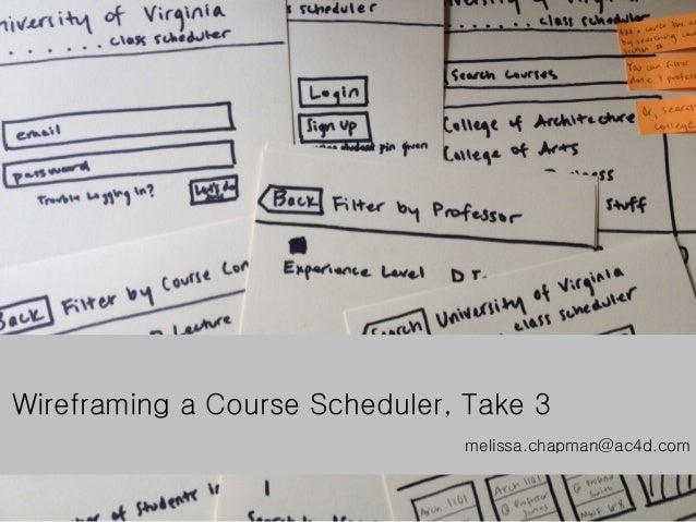 Class registration, Iteration 3
