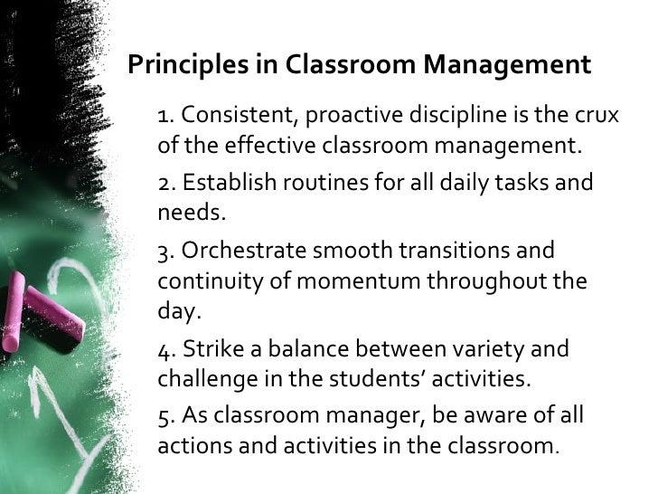 classroom discipline essay
