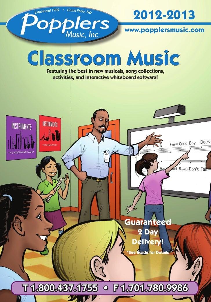 Classroom Music Catalog 2012-2013